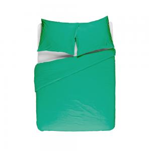 Groen dekbedovertrek