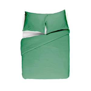 Groene dekbedovertrek