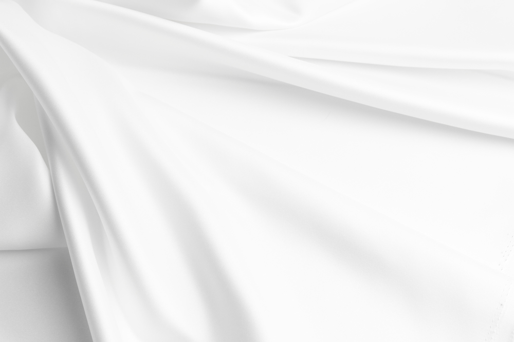 Katoen Satijn Dekbedovertrek 450TC Pure White